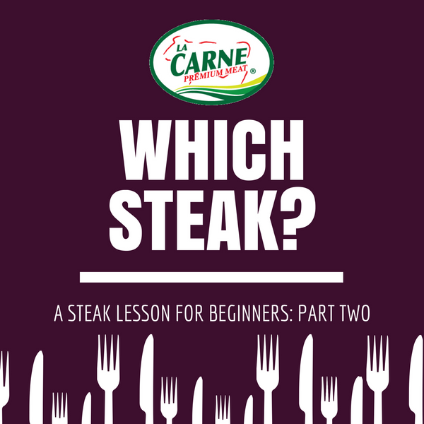 Which Steak? A Steak lesson for Beginners: Part Two