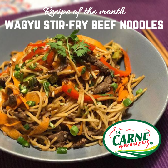 Perfect Wagyu Beef Stir-fry Noodles