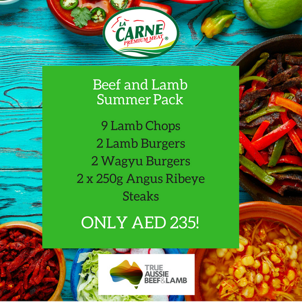 Beef and Lamb Summer Pack