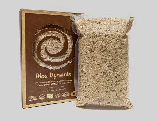Bios Dynamis Certified Organic Brown Rice