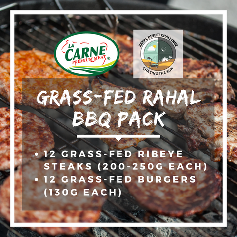 Grass-fed Rahal BBQ Pack