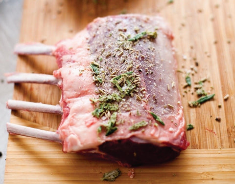 Silver Fern Farms Grass-fed Lamb rack/Chops