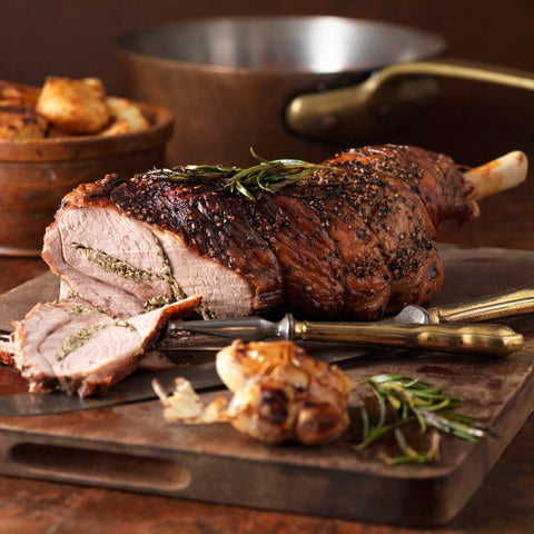 Premium Bone-in Lamb Leg for roasting