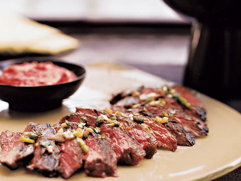 Ready-to-cook Black Angus Skirt Steaks