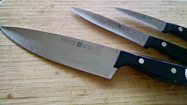 Professional Knife Sharpening Service - less than 9 inches