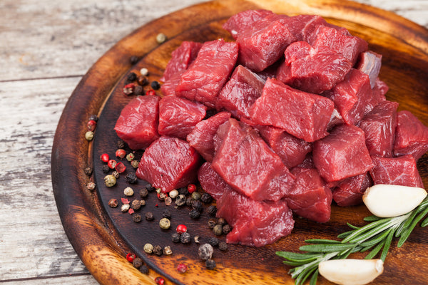 500g Angus Beef Cubes for Stewing