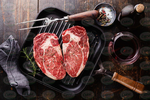 Wagyu Ribeye Steaks MB4-5 for 2