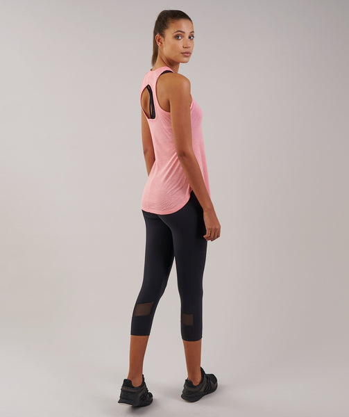 Sleek Aspire Crop Leggings - Black 2