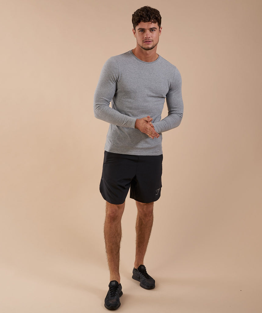 Gymshark Perforated Two In One Shorts - Black 1