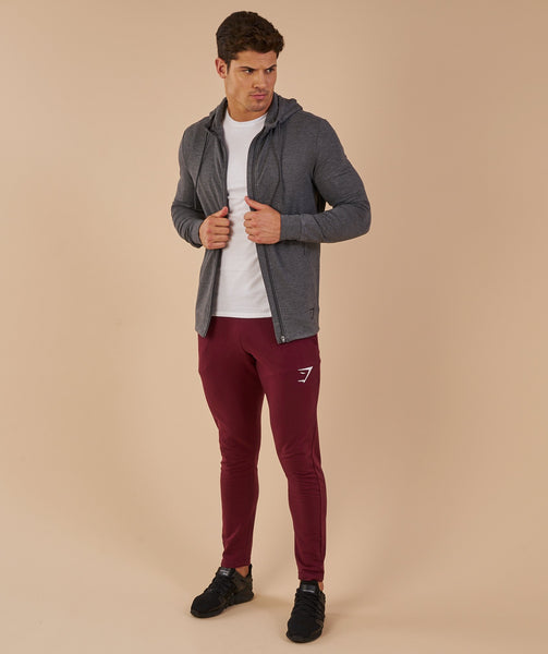 Gymshark Enlighten Zip Hoodie  - Charcoal Marl 2