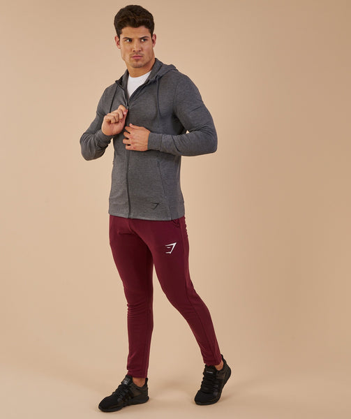 Gymshark Enlighten Zip Hoodie  - Charcoal Marl 3