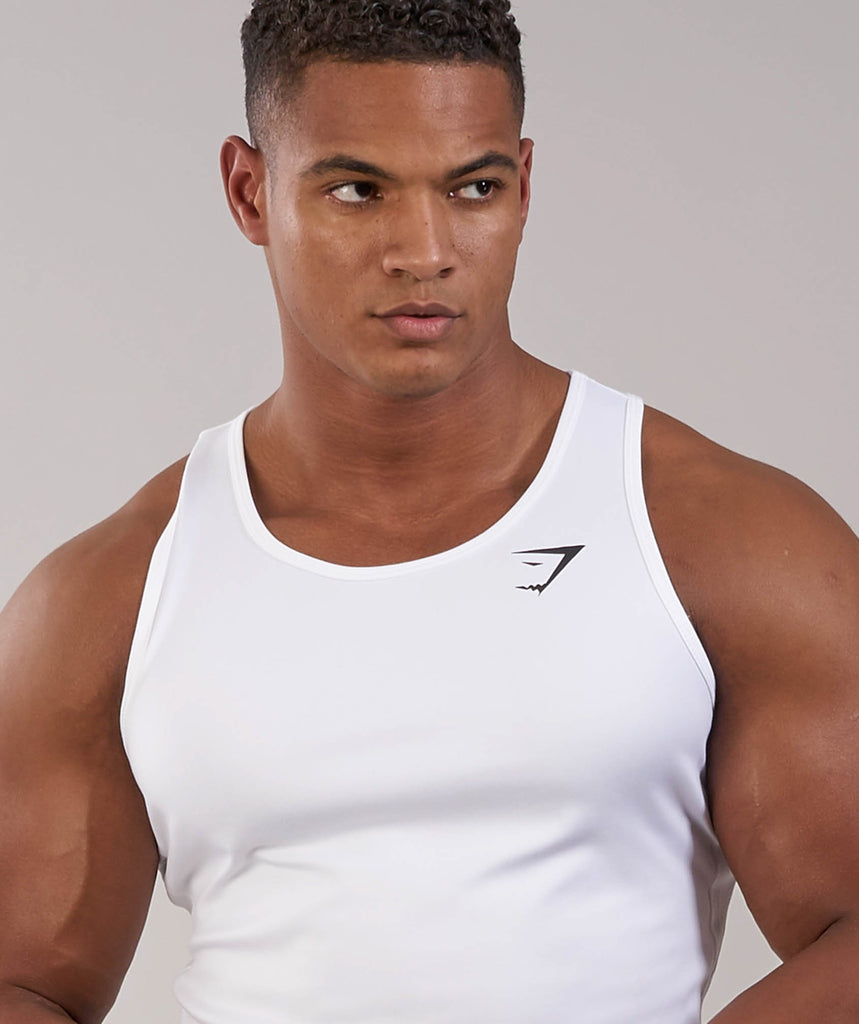 Gymshark Ability Tank - White 5