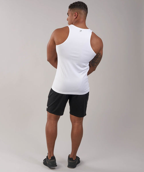 Gymshark Ability Tank - White 1
