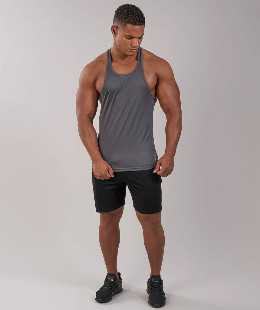 Gymshark Ability Stringer - Charcoal 1