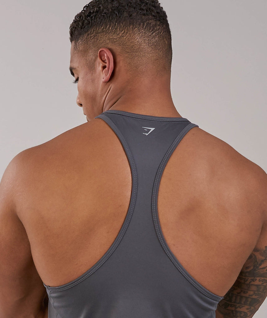 Gymshark Ability Stringer - Charcoal 5