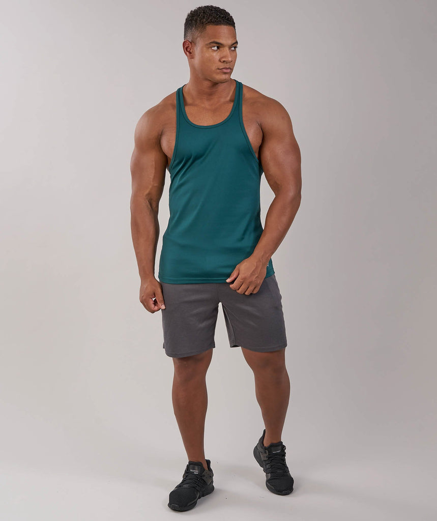 Gymshark Ability Stringer - Forest Green 1