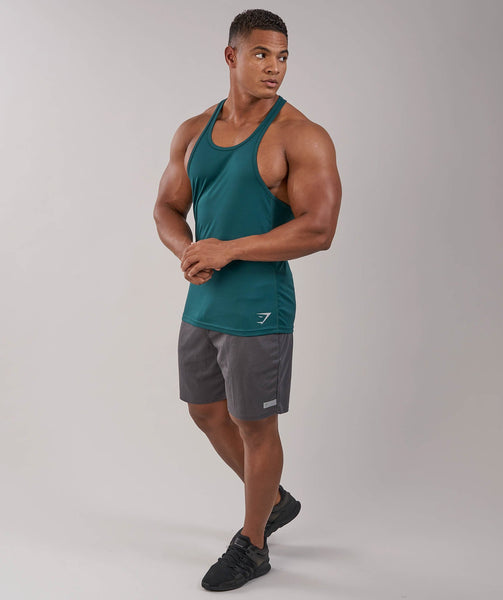 Gymshark Ability Stringer - Forest Green 3