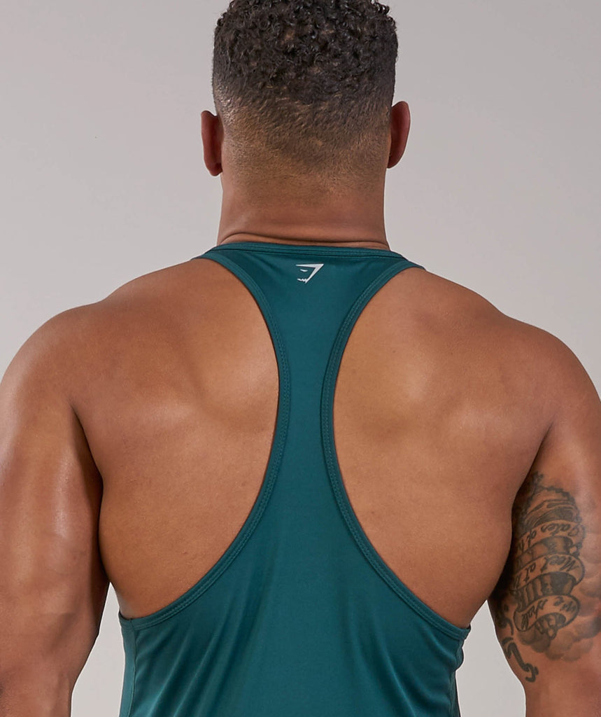 Gymshark Ability Stringer - Forest Green 5