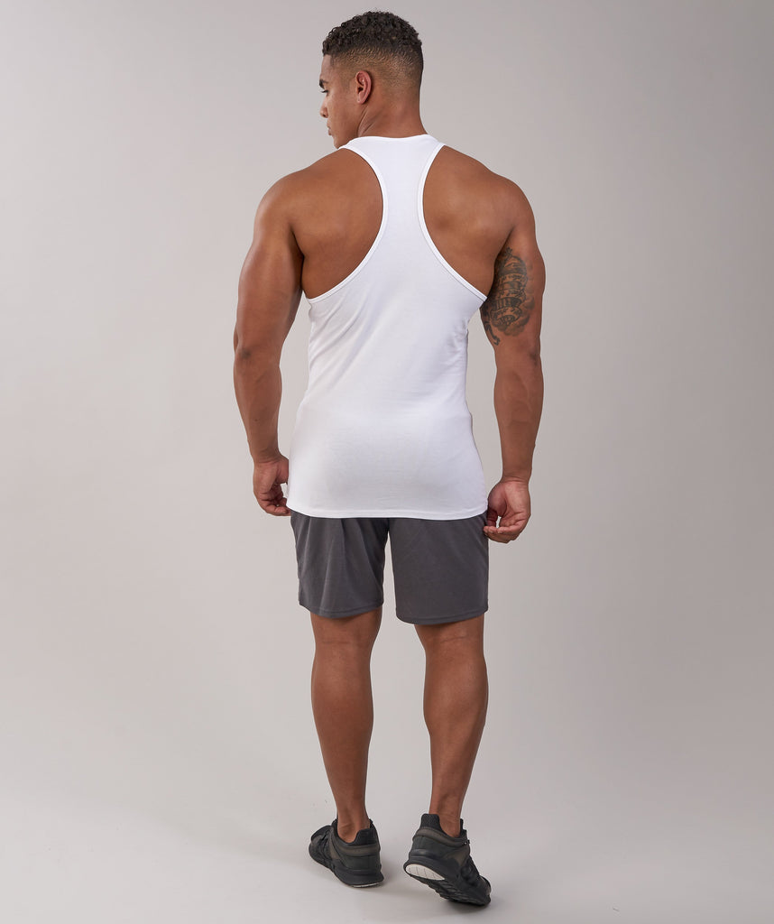 Gymshark ION Stringer - White 2