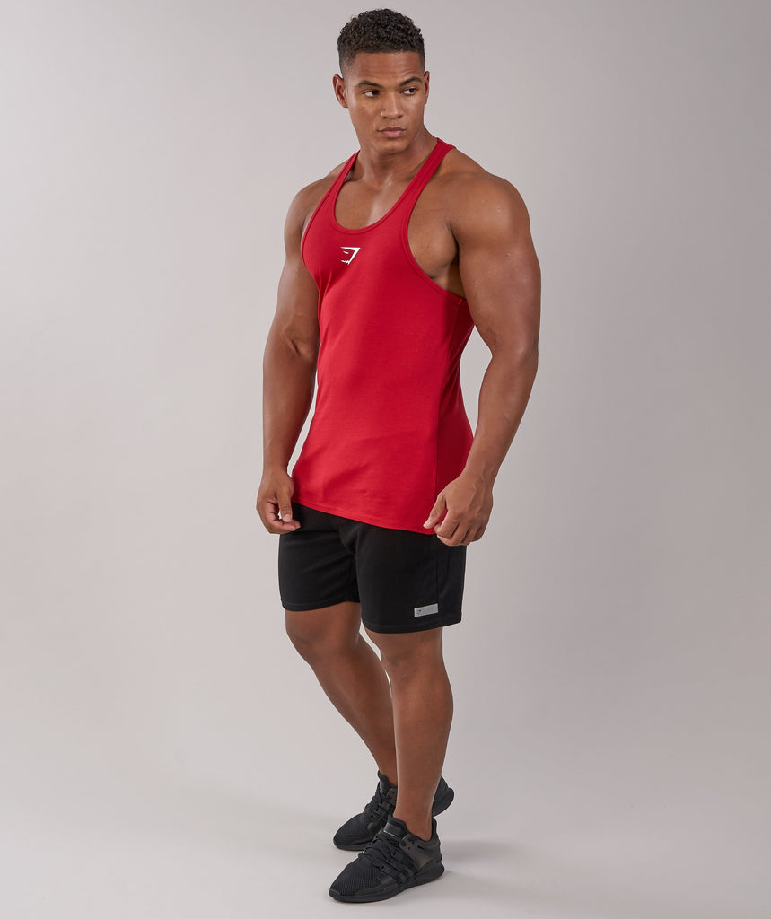 Gymshark Ion Stringer - Deep Red 2