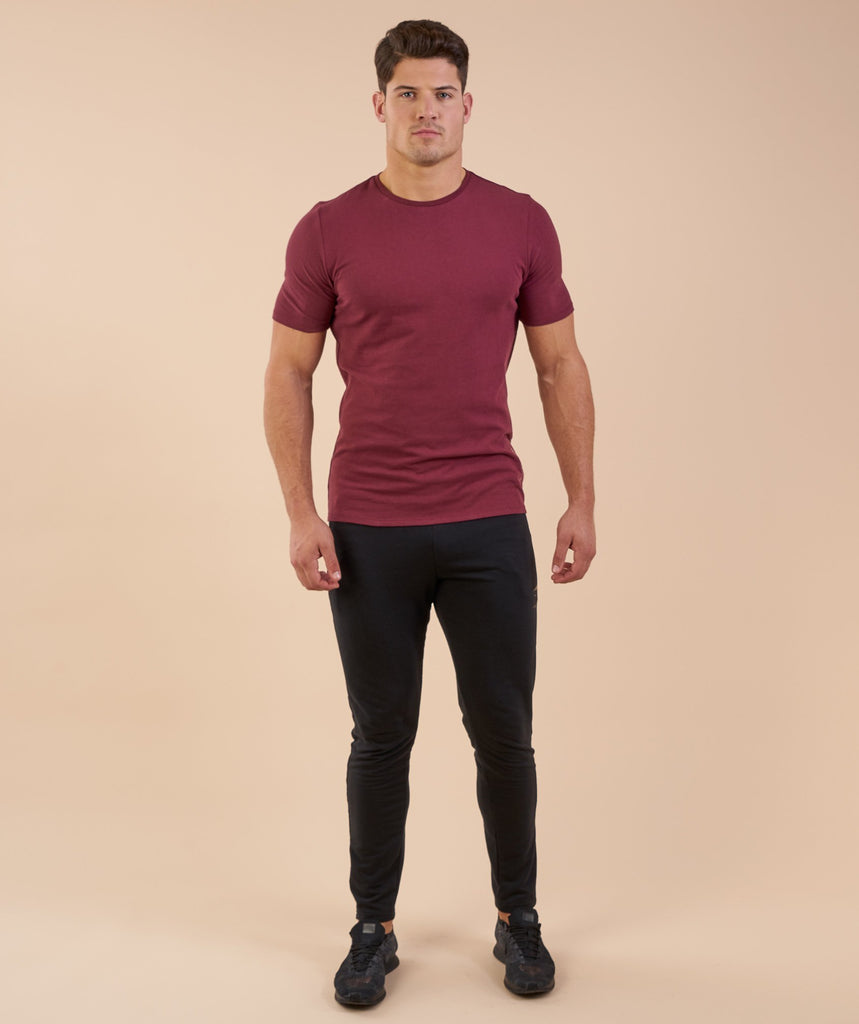 Gymshark Brushed Cotton T-Shirt -Port 1