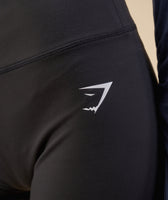 Gymshark Dreamy High Waisted Shorts - Black 12