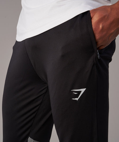 Gymshark Gravity Bottoms - Black/White 4