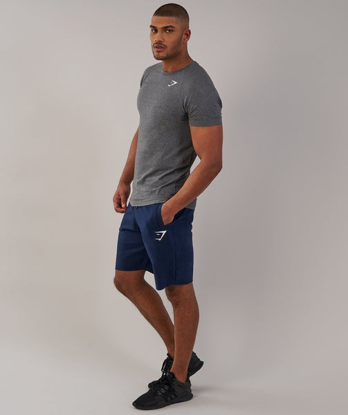 Gymshark Form T-Shirt - Charcoal Marl 2