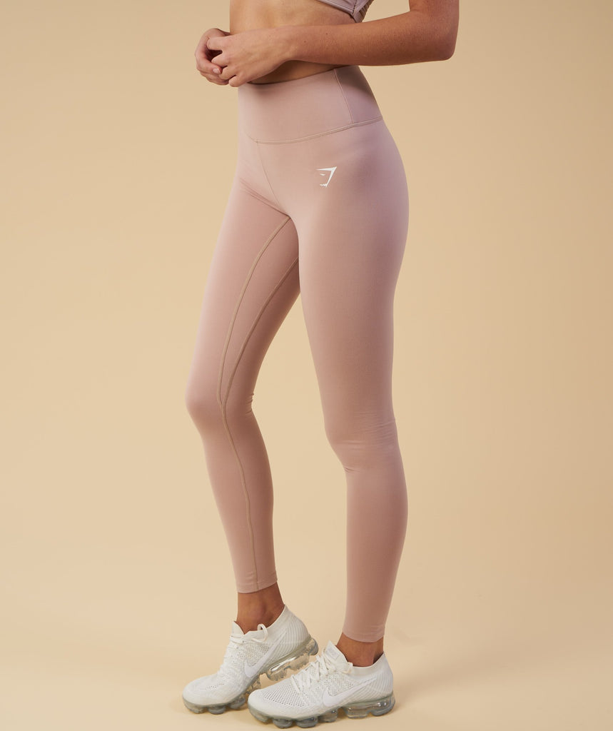 Gymshark Dreamy Leggings - Taupe 5