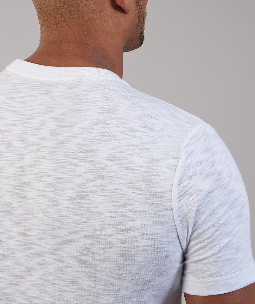 Gymshark Heather T-Shirt - White Marl 2