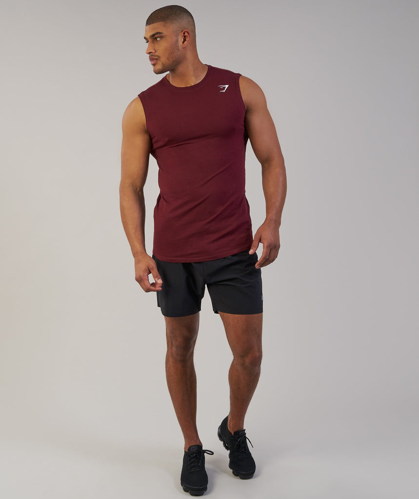 Gymshark Ark Sleeveless T-Shirt - Port 5
