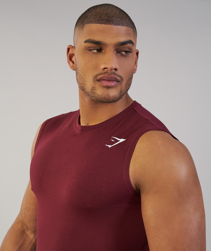 Gymshark Ark Sleeveless T-Shirt - Port 2