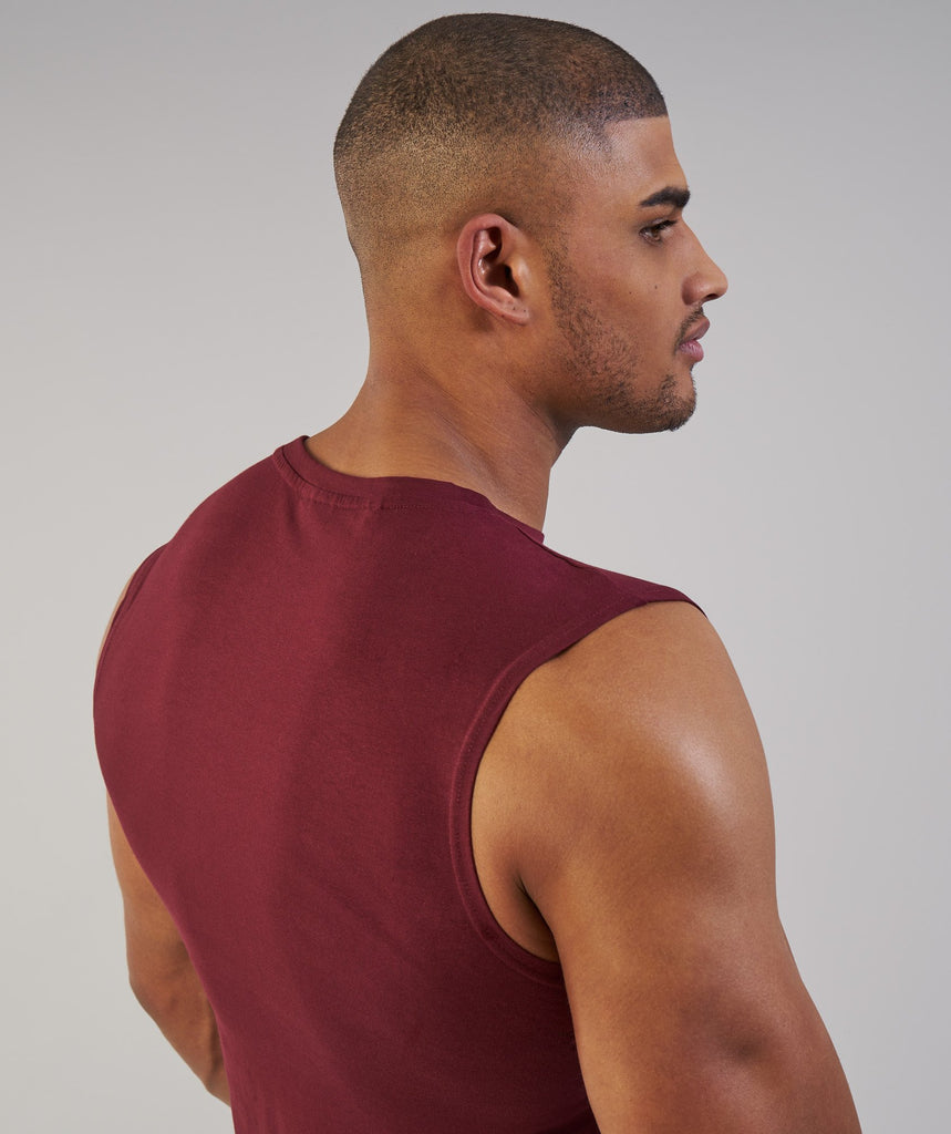 Gymshark Ark Sleeveless T-Shirt - Port 6