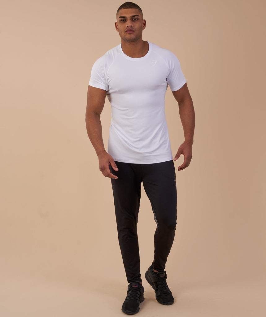 Gymshark Vertex T-Shirt - White 4