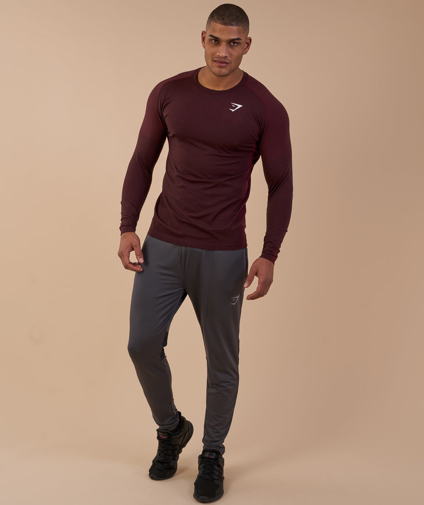 Gymshark Ghost Long Sleeve T-Shirt - Port Marl 1