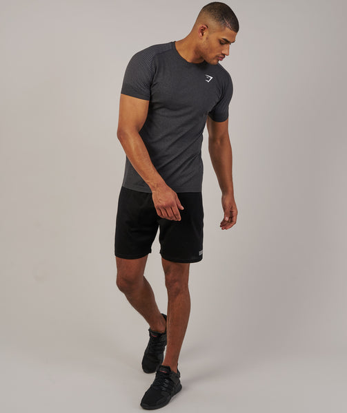 Gymshark Ghost T-Shirt - Black Marl 2