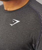 Gymshark Ghost T-Shirt - Black Marl 12