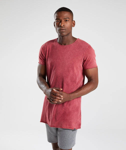 Gymshark Acid Wash T-Shirt - Port 4