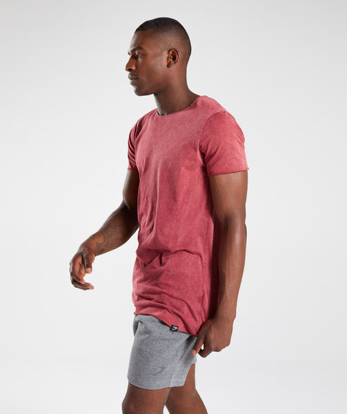 Gymshark Acid Wash T-Shirt - Port 2