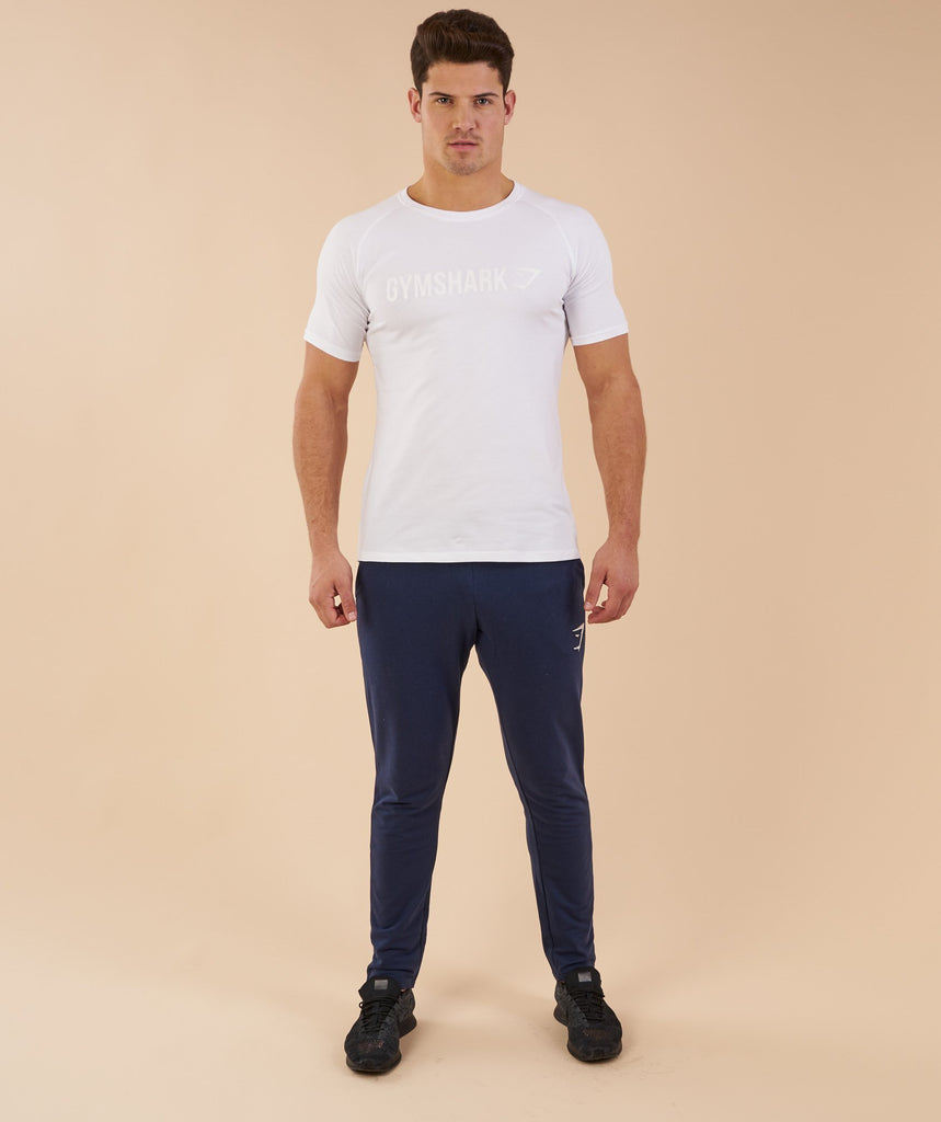 Gymshark Apollo T-Shirt - White 1