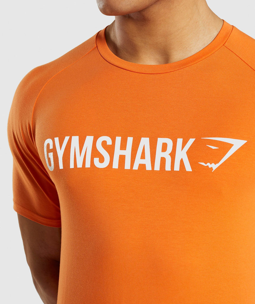 Gymshark Apollo T-Shirt - Orange 5
