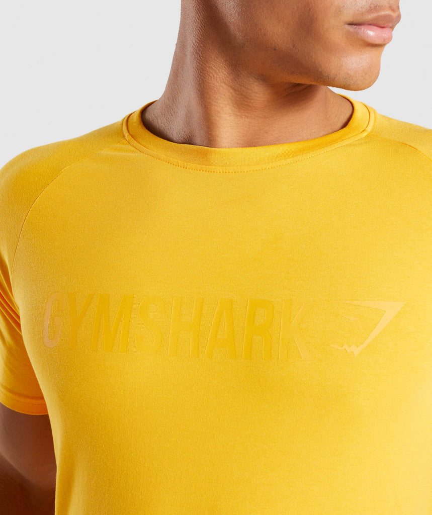 Gymshark Apollo T-Shirt - Citrus Yellow 6