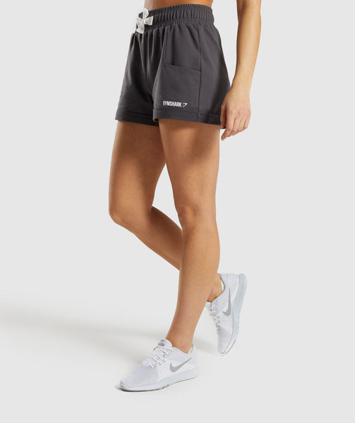 Gymshark Ark High Waisted Shorts - Grey 2
