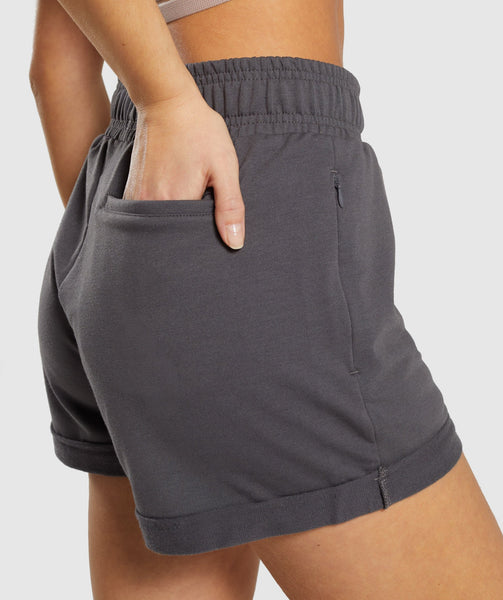 Gymshark Ark High Waisted Shorts - Grey 4