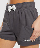 Gymshark Ark High Waisted Shorts - Grey 12