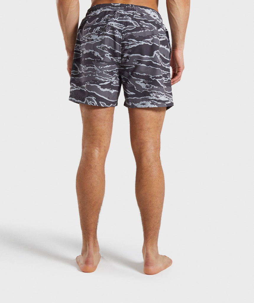 Gymshark Atlantic Swim Shorts - Grey Camo 2