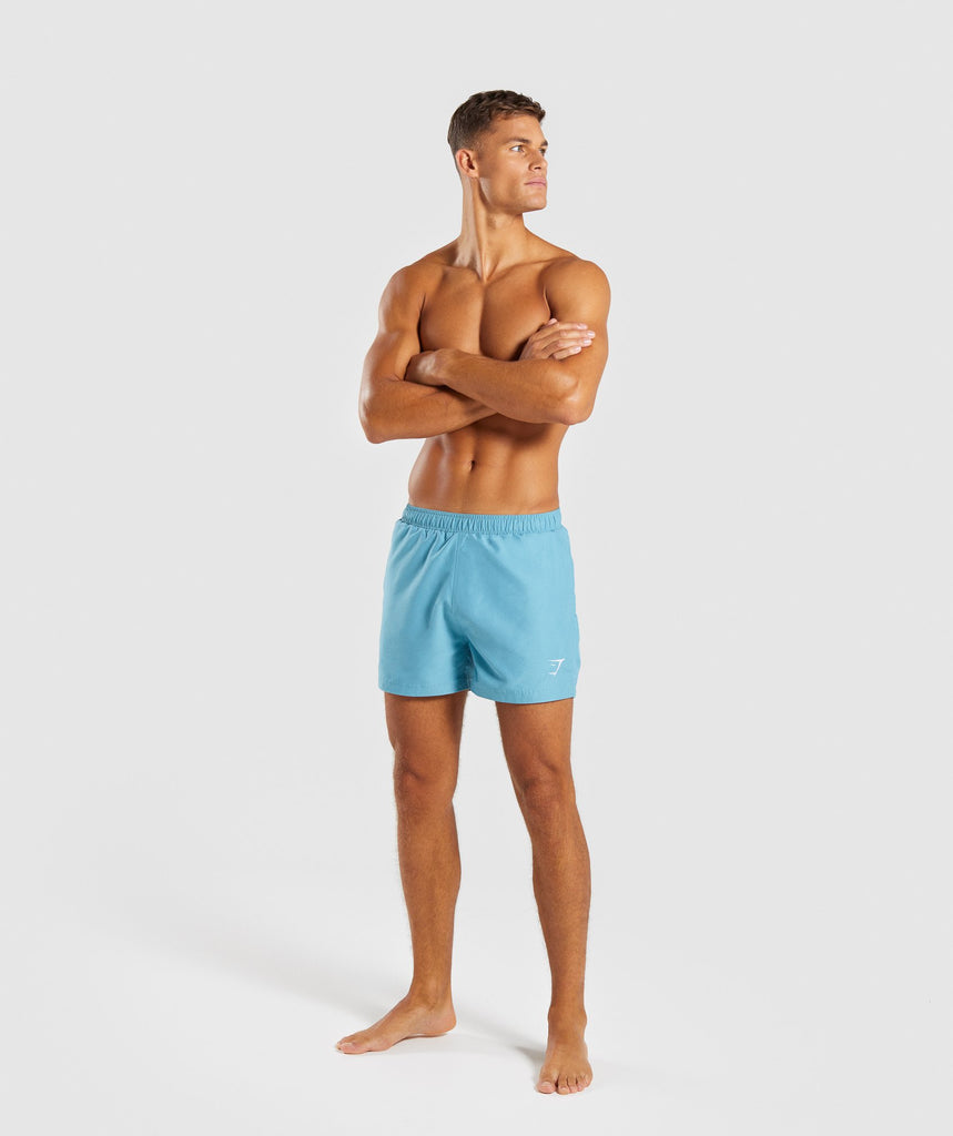 Gymshark Atlantic Swimshorts - Dusky Teal 5