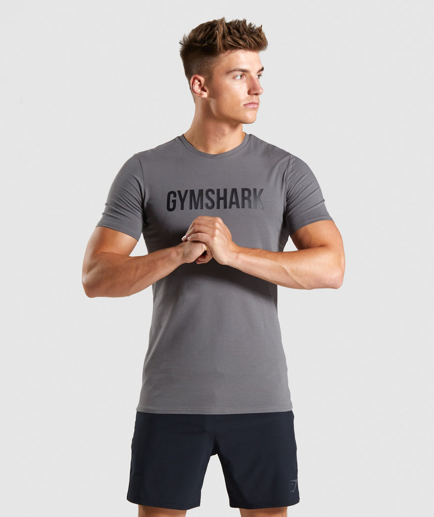 Gymshark Base T-Shirt - Grey 1