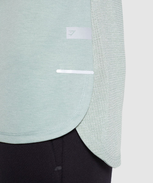 Gymshark Breathe T-Shirt - Pale Green 4