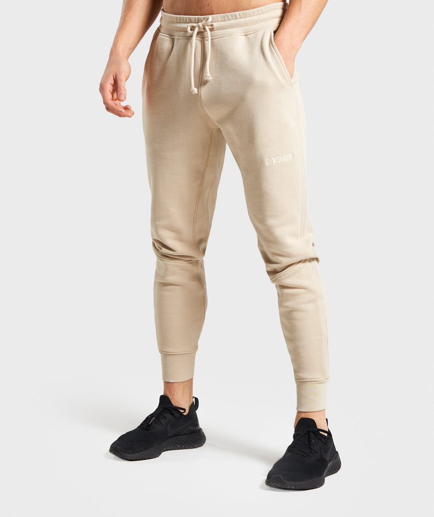 Gymshark Compound Joggers - Sand 1